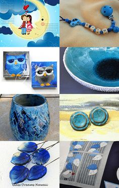 blue sunday finds by Monika on Etsy--Pinned with TreasuryPin.com