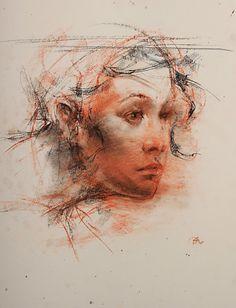 Study - Towards Light by George Dawnay - Westbrook Modern