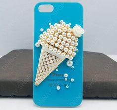 Ice cream phone case iphone 5 case iphone 4 case by dnnayding, $19.99