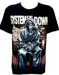 System of a Down Metal Rock Band Music Unisex T-Shirt Size S M L XL #NTS #GraphicTee