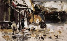 Nikolay Fechin Courtyard oil painting picture