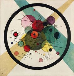 Wassily Kandinsky, Circles in a Circle, 1923