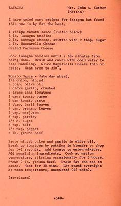 The grange range cookbook : favorite recipes fr. Retro Recipes, Old Recipes, Vintage Recipes, Cookbook Recipes, Great Recipes, Cooking Recipes, Favorite Recipes, Old Italian Recipes, Family Recipes