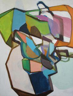 "Saatchi Online Artist Wayne Mok; Painting, ""Headstrong #1"" #art"