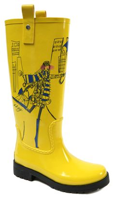 If it must rain, then the very least we can do is look glamorous in our own wind-swept way. The vast array of fashion rain boots continues to grow, ...