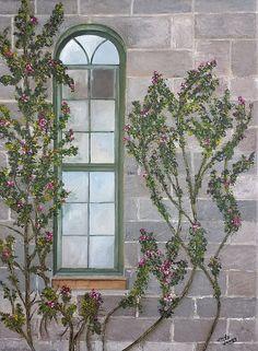 Devine Window by Judy Jones at Fine Art America