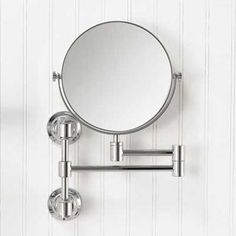 The Axor Montreux wall-mounted shaving mirror from Hansgrohe captures early-1900s design, as well as your reflection. Master bedroom