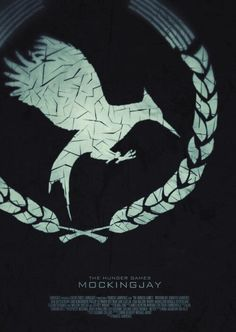 Check out this awesome fan-made Mockingjay poster!!! This is freaking amazing I love it!!!