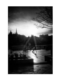 Edinburgh Old Town by MonseOrallo on Etsy
