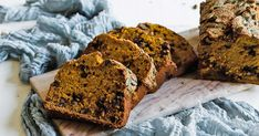 This amazing Pumpkin bread recipe is very easy to make and is loaded with chocolate chips and walnuts making it light, fluffy, and delicious!