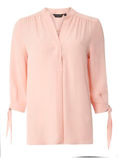 Buy your Dorothy Perkins Tie Cuff Roll Sleeve Shirt online now at House of Fraser. Why not Buy and Collect in-store?