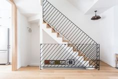 Home Decor Hallway 150 Marvelous Contemporary Stairs Ideas Stair Handrail, Staircase Railings, Staircases, Banisters, Metal Railings, Contemporary Stairs, Modern Stairs, Contemporary Design, Railing Design