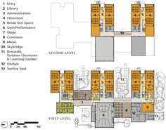 Informations About Thurston Elementary University Architecture, Wood Architecture, Education Architecture, School Architecture, School Floor Plan, School Plan, Primary School, Elementary Schools, School Building