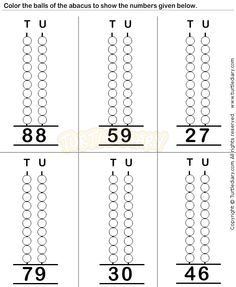 Abacus6 - math Worksheets - preschool Worksheets