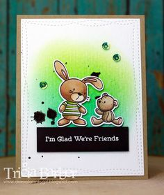 Diary of an Inky Girl…: Color Throwdown- Snuggle Bunnies | I'm glad we're friends