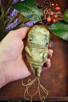 5767a4057957 Herbology lesson with Sprout  ) HOMEMADE MANDRAKE by XanderCornelius ...