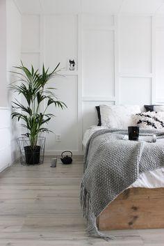 huisjeaandehaven, bedroom, diy, blog, basic, stoer, slaapkamer, boho, lattenwand, steigerhout, bedombouw, scandinavisch