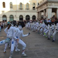 #FENCINGMOB a #Padova !!! pic.twitter.com/0HgBh0vOjw