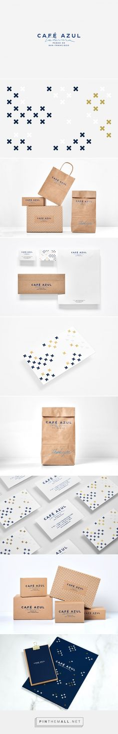 Anagrama designed the essence for this project for Café Azul Talavera with a strong influence from the traditional Mexican talavera art in the region. A wide array of well-distributed patterns in blue, golden and white foil embodies this idea and sets the right tone.