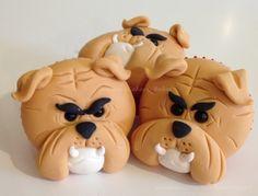 Bulldog Cupcakes :)