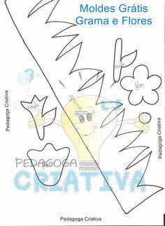 Ateliê Pedagoga Criativa: Moldes Felt Board Templates, Quiet Book Templates, Quiet Book Patterns, Bird Crafts, Diy And Crafts, Felt Mobile, Book Quilt, Busy Book, Punch Art