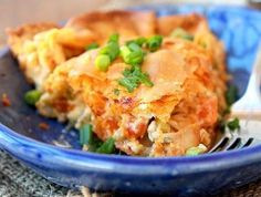 Buffalo Chicken Pot Pie