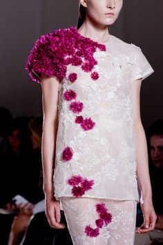 Giambattista-Valli 2013 couture flowers