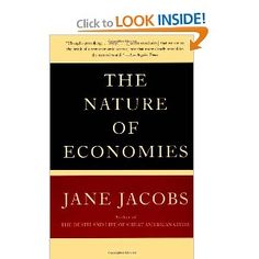 Has anyone read this?  The Nature of Economies