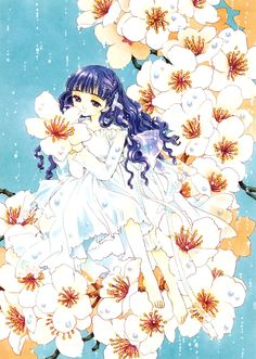 "Tomoyo Daidouji from ""Card Captor Sakura"" series by manga artist group CLAMP. Cardcaptor Sakura, Tomoyo Sakura, Sakura Card Captor, Syaoran, Manga Anime, Art Magique, Xxxholic, Anime Kunst, Girls Anime"