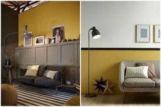 La couleur jaune moutarde pour un intérieur chaleureux