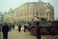 Revolution of 1989 Romanian Revolution, Timisoara Romania, Bucharest, Capital City, Military Vehicles, Past, World, Places, Cold War
