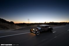 1931 Ford Model A Coupe made by Eddie's Chop Shop. Photo by Larry Chen. via 181077
