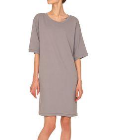 Love this Gray Shift Dress on #zulily! #zulilyfinds
