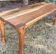 A review of some of my favourite projects from 2016 - this is a walnut bench with Maloof joint legs #calgarywoodworkers #bench #calgarywoodworking #yycwoodworker #yycwoodworking #garawood #2016 #yearinreview #wood #woodporn #woodreview #finewoodworking #festool #kutzall #generalfinishes #osmo #house #home #kitchen #furniture #chair #dining #woodworking #titebond #walnut #maple #padauk