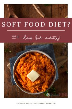 I did a little digging, and I've prepared a massive list of all the soft foods that you'll be able to enjoy if you've had oral surgery, have trouble swallowing, or are getting your wisdom teeth removed. Food After Wisdom Teeth, Wisdom Teeth Removal Food, What To Eat After Wisdom Teeth Removal, List Of Soft Foods, Soft Foods To Eat, Soft Foods For Dinner, Soft Food Meals, Soft Diet Food List, Pureed Food Recipes