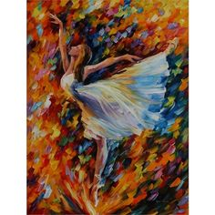 """Oil painting """"The Beauty of Dance"""" by @afremov by afremov"""