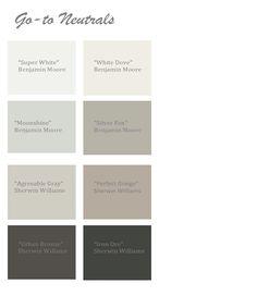 Velvets Edge: Pick the perfect neutral paint!