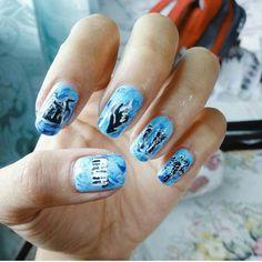 Divide - Ed sheeran Nail Art #EdSheeran #Divide #MicaiPaints