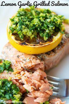 Cajun Delicacies Is A Lot More Than Just Yet Another Food Fast And Easy Lemon Garlic Grilled Salmon The Kitchen Magpie Supper Recipes, Easy Dinner Recipes, Great Recipes, Favorite Recipes, Easy Recipes, Supper Ideas, Frugal Meals, Easy Meals