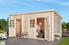 Gartenhaus Belfi Garage Doors, Shed, Home And Garden, Outdoor Structures, Outdoor Decor, House, Gardening, Home Decor, Products