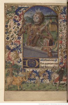 Horae ad usum Pictaviensem - 1455-1460 - Bibliothèque nationale de France, Département des manuscrits, NAL 3191 - f. 100v