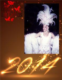 Maricruz Diaz Reina de Calle Arriba le da la bienvenida al #AñoNuevo 1995.