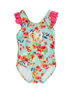 cd599b0bfb7de Painted Flowers Cross Back One Piece. Painted FlowersKids OutfitsCute  OutfitsBaby & Toddler ...