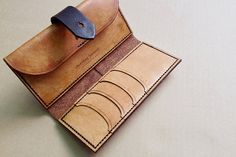 So pretty! Handcrafted leather purse on Etsy, $260.00 AUD