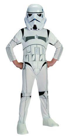 Star Wars Classic Stormtrooper Child Costume, Small.