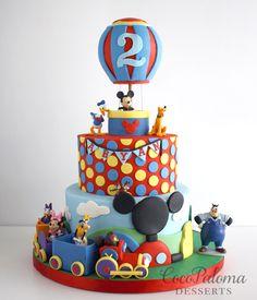 Festa Mickey Baby, Bolo Mickey, Mickey Cakes, Mickey Mouse Cake, Mickey Party, Mickey Mouse Birthday Decorations, Mickey Mouse Birthday Invitations, Mickey Mouse Clubhouse Birthday Party, Minnie Birthday
