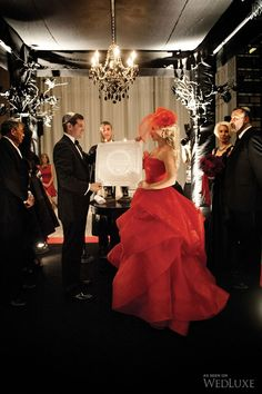 Ravishing in Red  #Wedding #RedWedding #RedWeddingDress #RedEvent #FourSeasons #FSWeddings #Toronto #TorontoEvents #TorontoWedding #AriaBallroom