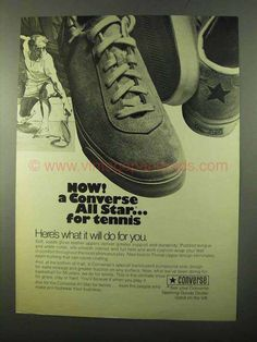 1986 Kinney Stadia Shoes Ad Look Great As They Play