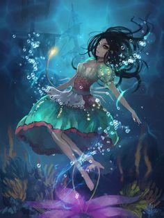 Underwater Alice