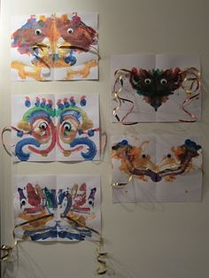Chinese New Year Squish Dragons for young children to make.  Paint ahead in class then help decorate